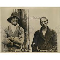 1931 Photo George Benson Anders Johannson sail from Sweden to Australia