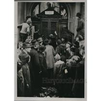 1923 Press Photo Boehme Chamber of Commerce ransacked by French
