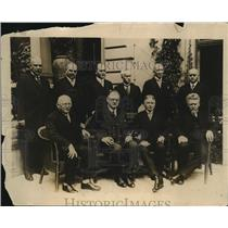 1928 Vintage Photo new German Cabinet members sit for official portrait