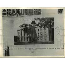 1935 Press Photo Raleigh North Carolina State Capitol - nee08419