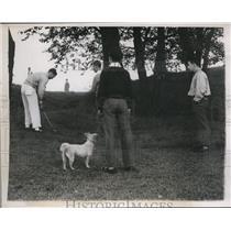 1938 Press Photo Philadelphia Pa J Smith Ferebee in 600 hole golf marathon