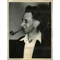 1934 Press Photo Harry Bridges West coast CIO Longshoremans union - nee06457