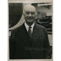 1935 Press Photo Augustine Edwards Chilean Ambassador - nee10730