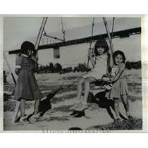 1942 Press Photo Mojave Children on Colorado River Indian Reservation