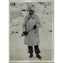1940 Press Photo of Maj. General Folke Hogberg of the Swedish Army. - nee07100