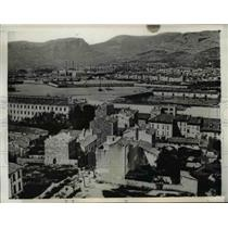 1942 Press Photo Toulon France naval base now taken over by Germans - nee06967