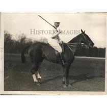 1923 Press Photo Rene La Montagne polo player prison for bootlegging - nes26415
