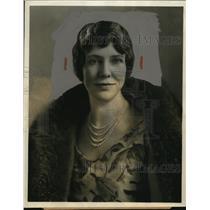 1931 Press Photo Wife of Governor Ibra C Blackwood of South Carolina