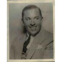 1929 Press Photo of George Olsen noted orchestra leader. - nee08020