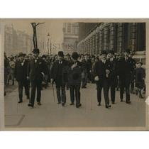 1921 Photo London, Allied Ministers after Supreme Council meeting