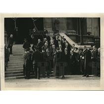 1932 Photo body late Aristide Briand carried to Ministry Interior