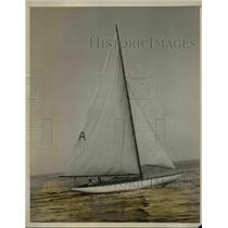 1928 Press Photo Merry Wing in annual regatta in Milton Point, .NY. - nee15163