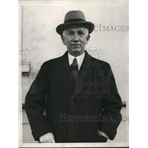 1932 Press Photo Norman H Davis Disarmament conference in NYC - nee13056