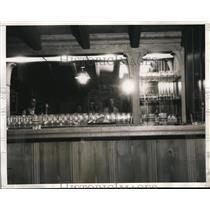 1934 Press Photo Estate of William Gettle Beverly Hills California - nee13916