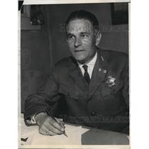 1932 Press Photo of Police Lt. W.A. Gabrielson. - nee13257
