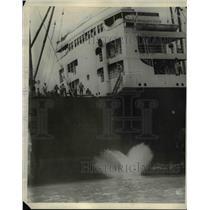 1924 Press Photo Ship SS President Buchanan - nee14436