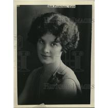 1929 Press Photo Mona Porter  queen of strawberry festival Umpqua valley