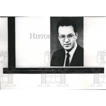 1960 Press Photo Professor Donald A. Glaser Won Nobel Prize for Physics