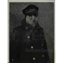 1936 Press Photo A chamois mask devised by a doorman of a hotel - nee15598