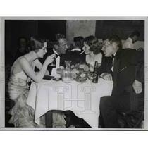 1935 Press Photo Opening of Fashionable Colony Club, Palm Beach, Florida