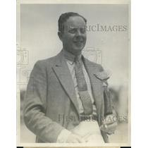 1927 Press Photo Lord Rossmore County Monoghan Ireland Marmalade King