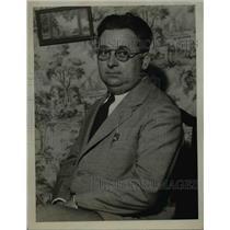 1921 Press Photo Judge Leon A Kujawski  - nee12366