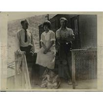 1927 Press Photo Mrs. Freeman, Dir. H.B.Freeman and E.E.Warner - nee16794