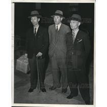 1939 Press Photo Rintaro Kinosham Yoshita Inouye, Katsuya Aiko of Japan