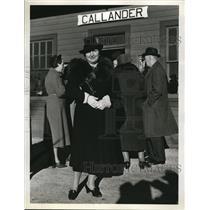 1937 Press Photo of Miss Sidonnie Greetes.  - nee13259
