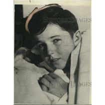 1929 Press Photo Johnny Padur age 13 Tacoma caddy  - nee10782
