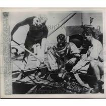 1946 Press Photo The ship at the Corregidor in the Philippines
