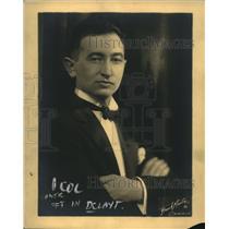 1925 Press Photo Leo Fleitrnon of Conn String quartet - nee13235