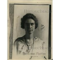 1922 Press Photo Gertrude Grohe of Winthrop Mass - nee10970
