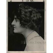 1922 Press Photo Mrs Albert H Ely Wife of Dr Ely To Host President & Mrs Harding