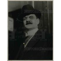 1923 Press Photo Guido Blenio , an inventor  - nee16048