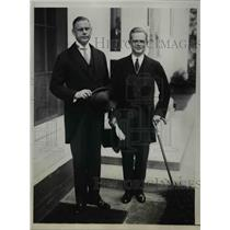 1940 Press Photo Ambassador Edgar L.G. Prochnik, Baron Karl Ferdinand Tinty