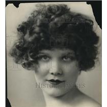 1927 Press Photo Charlotte in Artists & Models Paris Edition Magazine