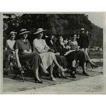 1934 Press Photo Mrs. W.H. Colbern, Senora De Limon, and Mrs. J.L. Devers