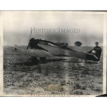 1929 Press Photo Boeing single motor plane Golden Hind & F Dittman Jr