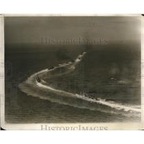 1930 Press Photo The U.S. Asiatic Fleet at the Subic bay in the Philippines