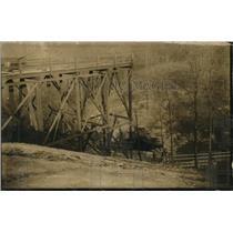 1928 Press Photo Tipple of Dolomite Mine after an explosion underground
