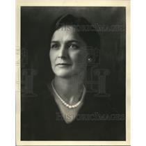 """1930 Press Photo Mrs. Myrtle Christopherson """"Lovliest Mother in United States"""""""