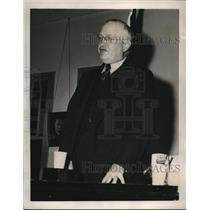 1940 Press Photo James Wilson at American Federation of Labor Annual meeting