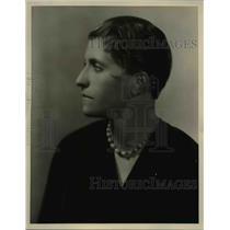 1929 Press Photo Joziena Van Der Ende Contralto Crooner