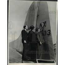 1940 Press Photo George Haldeman of the Civil Aeronautic Authority - nee23683