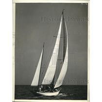 1937 Press Photo Mandoo II Wins Miami-Nassau Race - nee18472