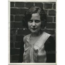 1930 Press Photo Barbara Walker, 25 year old dancer from N.Y. - nee13953