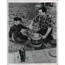1954 Press Photo Picnic - nee21612