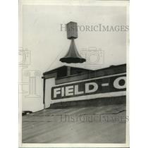1928 Press Photo The ear on Field of St. Louis - nee19890