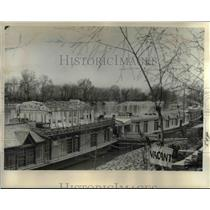 1963 Press Photo The Kashmiri houseboats are vacationers delights  - nee16910